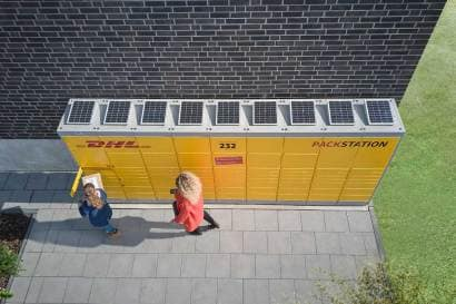 DHL Packstation GoGreen