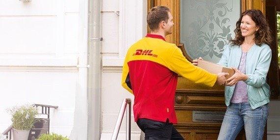 DHL Päckchen  deutschlandweit günstig versenden für 3,89