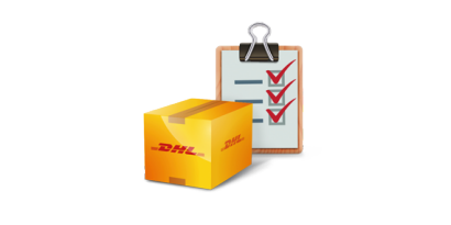 Icon DHL packaging inspection